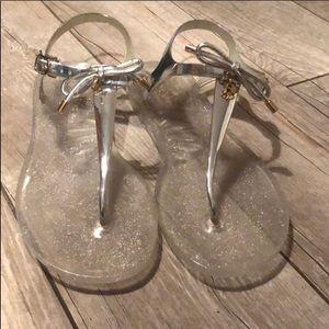 Kate Spade Jelly T-Strap Sandals Sz 10